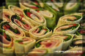 Wraps, Bleu House Cafe