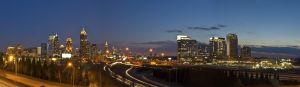 Atlanta Skyline Panorama