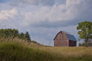Red Barn, Whitley County, IN